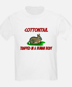 Cottontail trapped in a human body T-Shirt