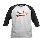 Finke (red vintage) Kids Baseball Jersey