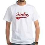 Finke (red vintage) White T-Shirt