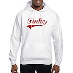 Finke (red vintage) Hooded Sweatshirt