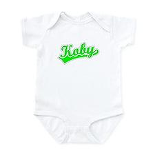 Retro Koby (Green) Infant Bodysuit