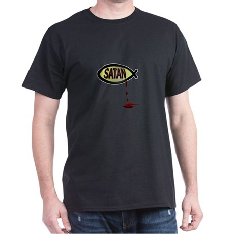 Satan Fish Dark T-Shirt