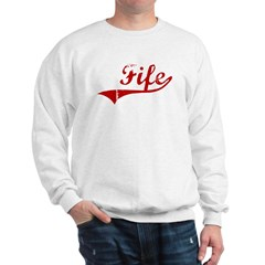 Fife (red vintage) Sweatshirt