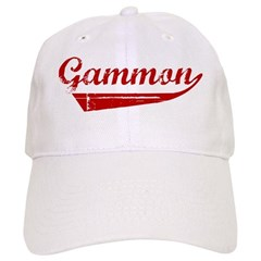 Gammon (red vintage) Baseball Cap