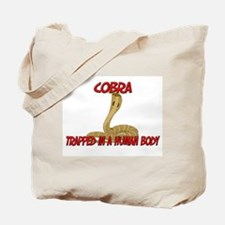 Cobra trapped in a human body Tote Bag