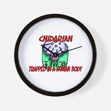 Cnidarian trapped in a human body Wall Clock