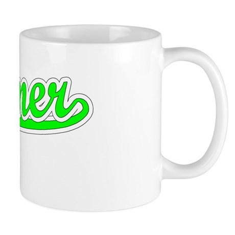 Retro Kramer (Green) Mug