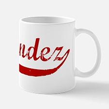 Fernandez (red vintage) Mug