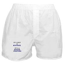 Mistake Design #1 Boxer Shorts