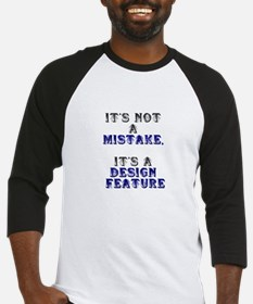 Mistake Design #1 Baseball Jersey