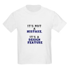 Mistake Design #1 Kids T-Shirt