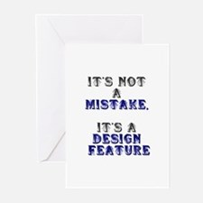 Mistake Design #1 Greeting Cards (Pk of 10)