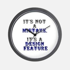 Mistake Design #1 Wall Clock