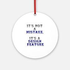 Mistake Design #1 Keepsake (Round)