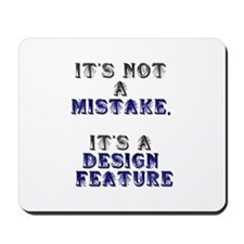 Mistake Design #1 Mousepad