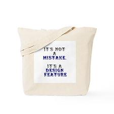 Mistake Design #1 Tote Bag