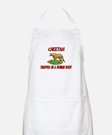 Cheetah trapped in a human body BBQ Apron
