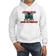 Cephalopod trapped in a human body Jumper Hoody