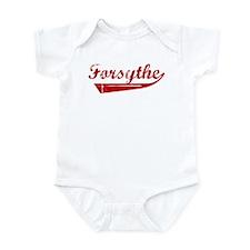 Forsythe (red vintage) Onesie