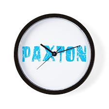 Paxton Faded (Blue) Wall Clock