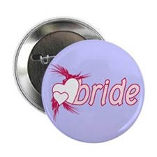 "Pink Bride 2.25"" Button"