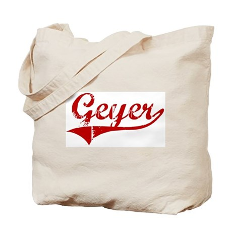 Geyer (red vintage) Tote Bag