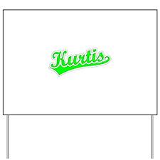 Retro Kurtis (Green) Yard Sign