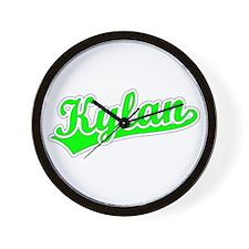 Retro Kylan (Green) Wall Clock