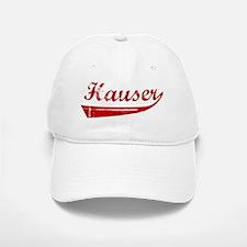 Hauser (red vintage) Baseball Baseball Cap