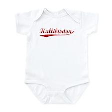 Halliburton (red vintage) Infant Bodysuit