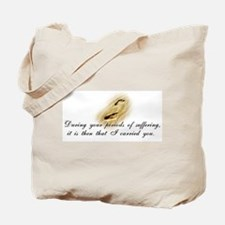 Footprints Tote Bag