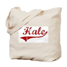 Hale (red vintage) Tote Bag