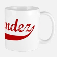 Hernandez (red vintage) Mug
