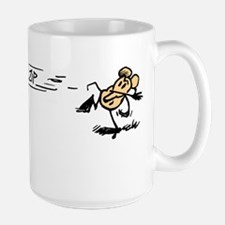 """Krazy Kat and Ignatz"" Large Mug"