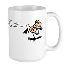 """Krazy Kat and Ignatz"" Coffee Mug"