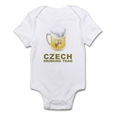 Czech Drinking Team Infant Bodysuit