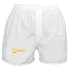 Vintage Dwayne (Orange) Boxer Shorts