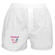 Elizabeth - #1 Mom Boxer Shorts