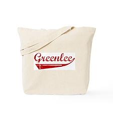 Greenlee (red vintage) Tote Bag