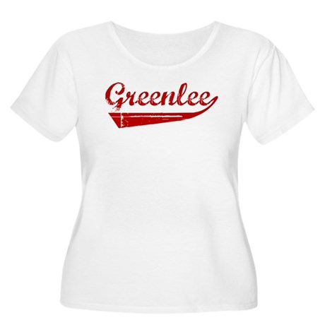Greenlee (red vintage) Women's Plus Size Scoop Nec