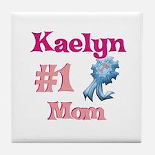 Kaelyn - #1 Mom Tile Coaster