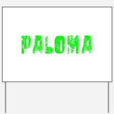 Paloma Faded (Green) Yard Sign