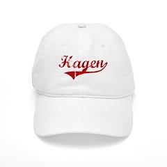 Hagen (red vintage) Baseball Cap