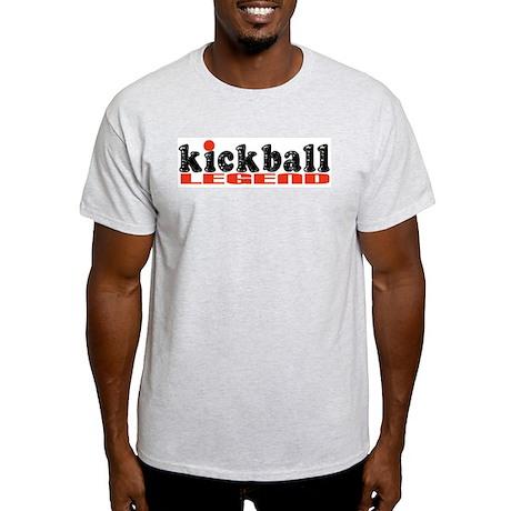 Kickball Kegend Ash Grey T-Shirt