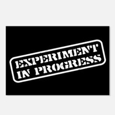 Experiment in Progress Postcards (Package of 8)