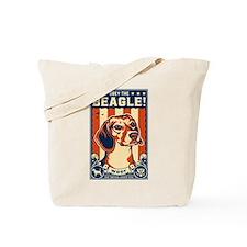 Obey the Beagle! American Beagle Tote Bag