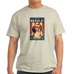 Obey the Beagle USA 2-sided Light T-Shirt