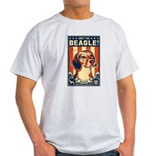 Obey the Beagle USA 2-sided T-Shirt