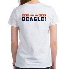 Obey the Beagle! USA 2-sided Tee
