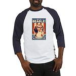 Obey the Beagle! USA Baseball Jersey